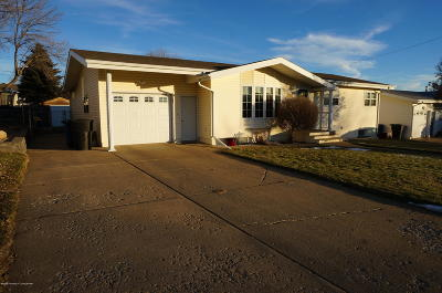 Dickinson Single Family Home For Sale: 1160 4th Ave E