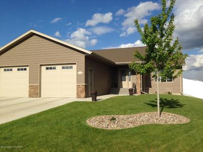 Dickinson Single Family Home Ros Contingency - Yes: 1558 9th Ave E