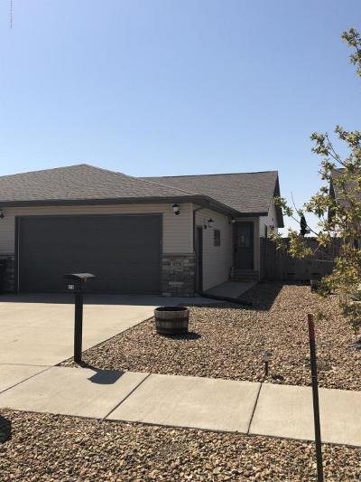 Dickinson Single Family Home For Sale: 978 17th St E