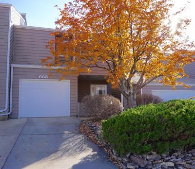 Dickinson Single Family Home For Sale: 663 Hillside Drive