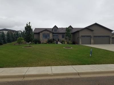 Dickinson Single Family Home Ros Contingency - Yes: 1540 Grasslands Dr