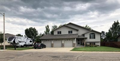 Dickinson Single Family Home For Sale: 1099 18th St W