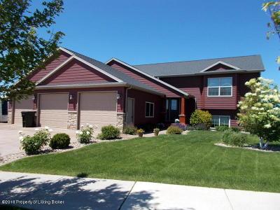 Dickinson Single Family Home For Sale: 2831 Prairie Oak Dr