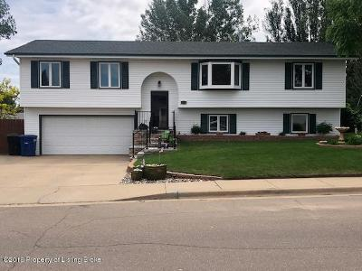 Dickinson Single Family Home Ros Contingency - Yes: 671 5th SW