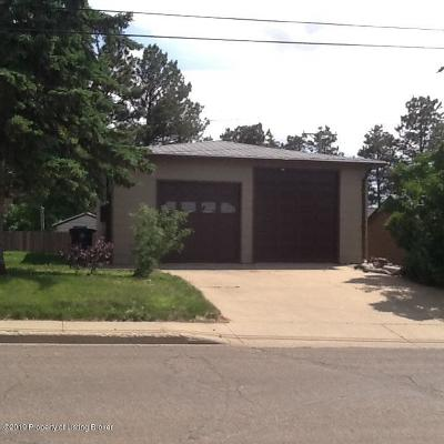 Dickinson Single Family Home For Sale: 645 2nd Ave. E.
