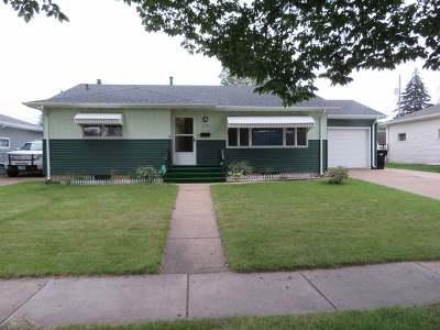 Bismarck Single Family Home For Sale: 1221 Washington St N