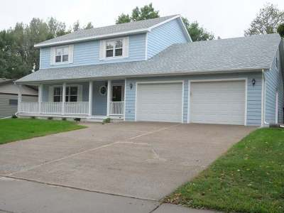 Bismarck Single Family Home For Sale: 3604 Hackberry St