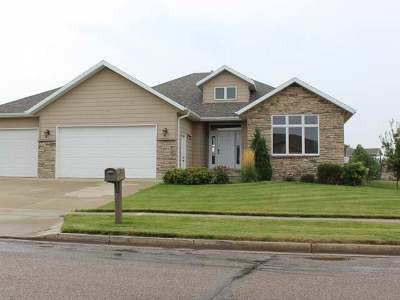 Bismarck Single Family Home For Sale: 1217 Eagles View La
