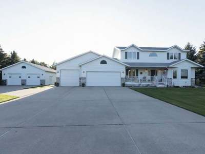 Bismarck Single Family Home For Sale: 9440 Oak Dr