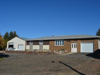 Beulah, Hazen Single Family Home For Sale: 706 County Rd 21