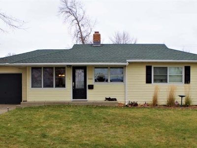 Bismarck Single Family Home For Sale: 1144 S Highland Acres Rd