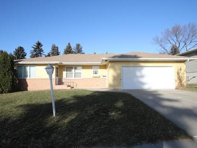 Bismarck Single Family Home For Sale: 414 Interstate Av E