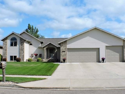 Mandan Single Family Home For Sale: 4816 Harbor Trl SE