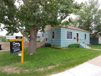 Bismarck Single Family Home For Sale: 1001 Riverview Ave