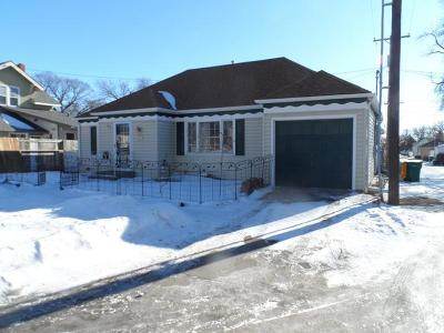 Bismarck Single Family Home For Sale: 513 Ave F E