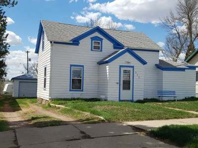 New Salem Single Family Home For Sale: 312 4th Street N