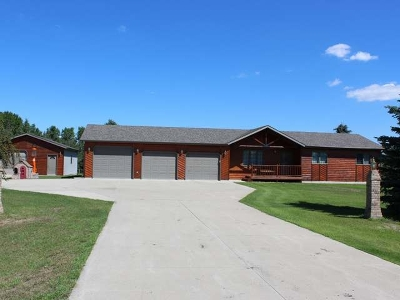 Bismarck Single Family Home For Sale: 3414 Silver Fox La