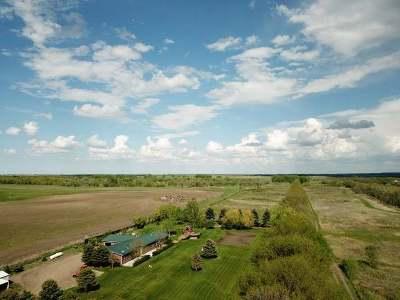 Bismarck Farm For Sale: 8355 106th St SE