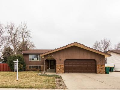 Bismarck Single Family Home For Sale: 707 Wachter Av E