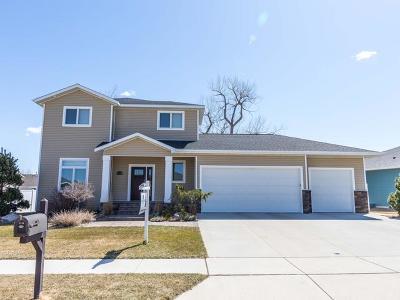 Mandan Single Family Home For Sale: 3710 Bay Shore Bend SE