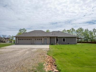 Bismarck Single Family Home For Sale: 8415 Burnt Cr Island Rd
