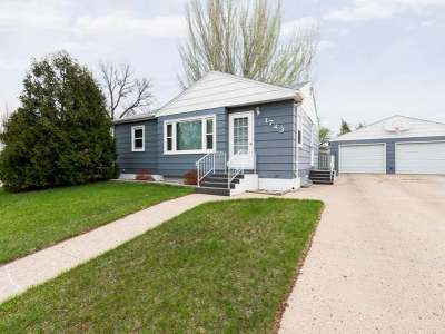 Bismarck Single Family Home For Sale: 1743 6th St N