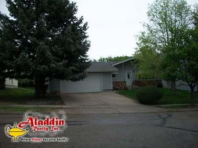 Bismarck Single Family Home For Sale: 1008 Central Av W