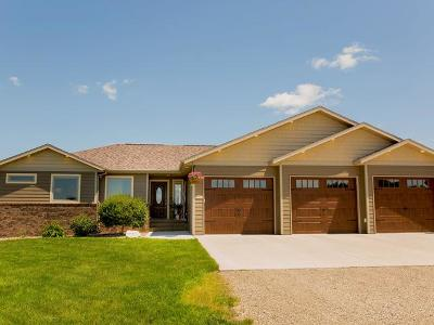 Bismarck Single Family Home For Sale: 7321 Scenic Hills Rd