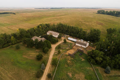 Bismarck Farm For Sale: 12300 71st Avenue NE