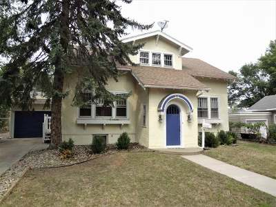 Bismarck Single Family Home For Sale: 510 Rosser Avenue W