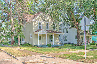 Bismarck Single Family Home For Sale: 831 N 5th St Street