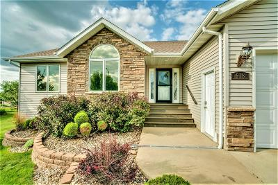 Bismarck Single Family Home For Sale: 518 Cherrybrook Drive