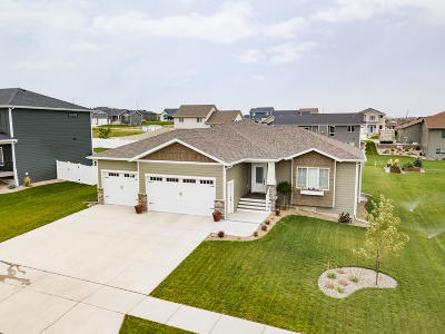 Bismarck Single Family Home For Sale: 4613 Kites Lane
