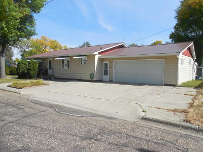 Turtle Lake Single Family Home For Sale: 403 Charles Street