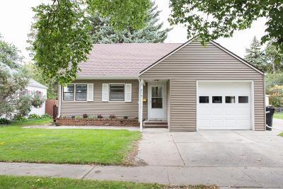 Bismarck Single Family Home For Sale: 814 N 17th Street Street