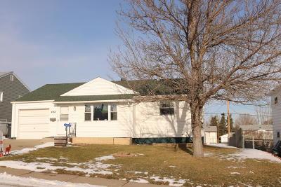 Mandan Single Family Home For Sale: 402 11 Street NW