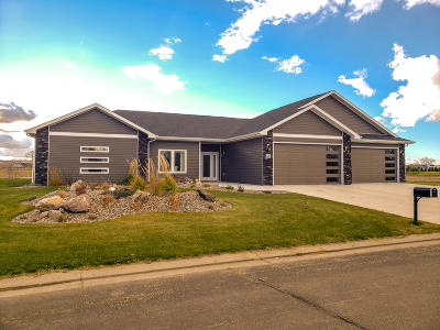 Bismarck Single Family Home For Sale: 6400 Dream Drive
