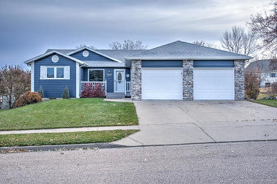 Bismarck Single Family Home For Sale: 1231 Territory Drive