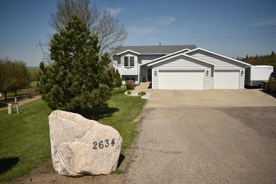Bismarck Single Family Home For Sale: 2634 Copper Mountain Circle