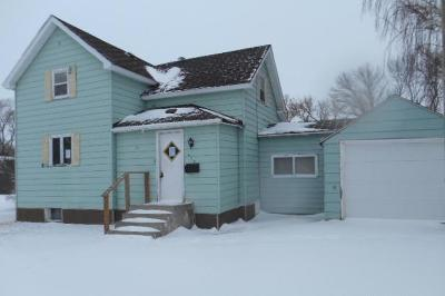 Rugby ND Single Family Home For Sale: $19,900