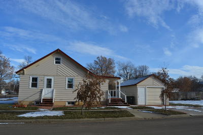 Hazen ND Single Family Home For Sale: $139,500