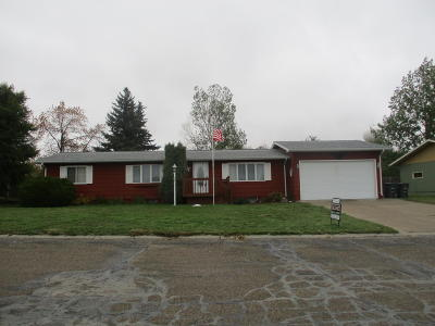 Washburn Single Family Home For Sale: 1059 Custer Drive