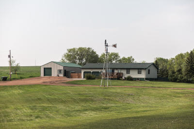 Beulah, Hazen Single Family Home For Sale: 653 Co Rd 27
