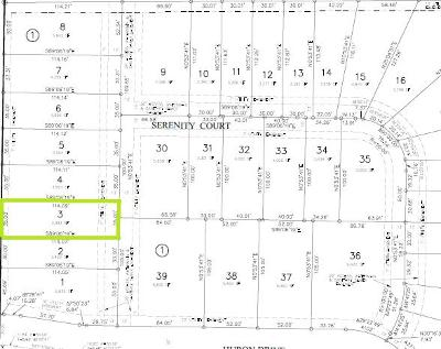Residential Lots & Land For Sale: 4412 Serenity Court