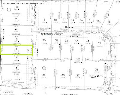 Residential Lots & Land For Sale: 4418 Serenity Court