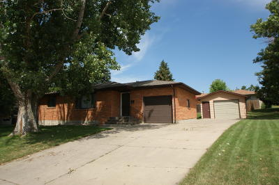 Mandan ND Single Family Home For Sale: $198,500
