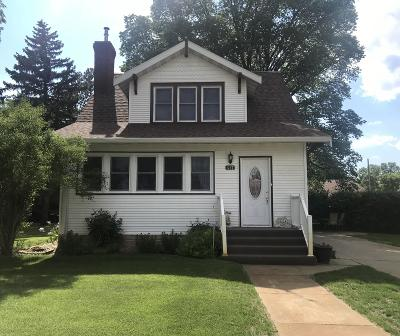 Hazen Single Family Home For Sale: 417 Central Ave N