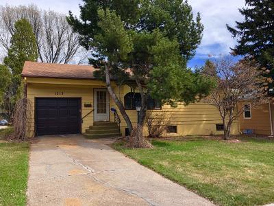 Bismarck Single Family Home For Sale: 1313 Apache Street