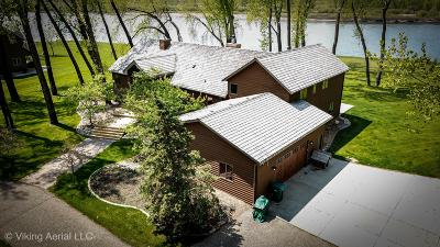 Bismarck Single Family Home For Sale: 9922 Island Road