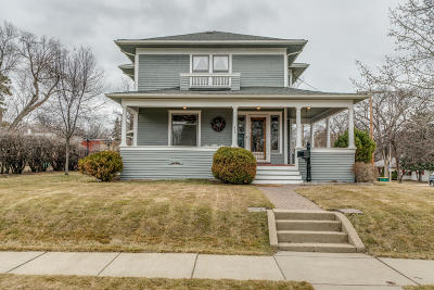 Bismarck Single Family Home For Sale: 502 Thayer Avenue W